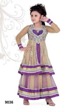 Kids bollywood lehenga