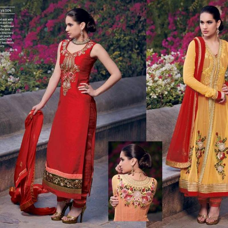 2 in 1 Long kameez image