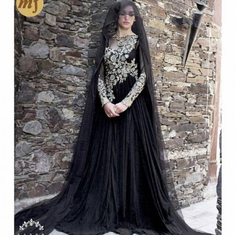 Long net gown image