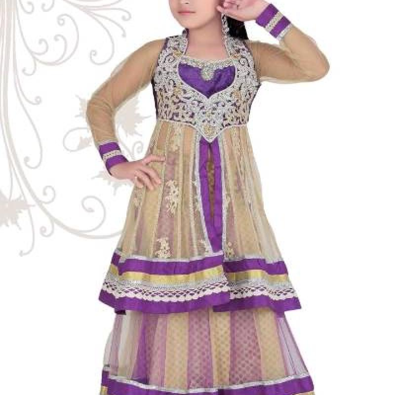 Kids bollywood lehenga image