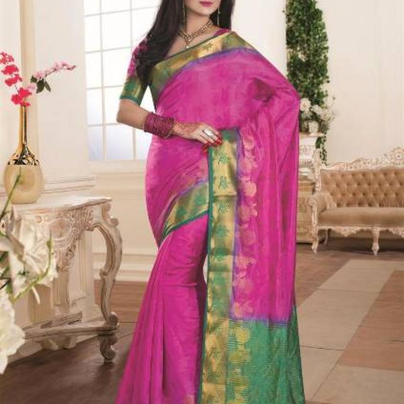 Magenta Saree image